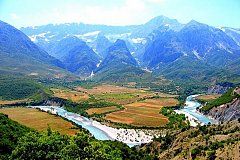 National parks of Albania