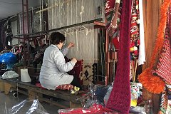 Carpet weaving traditions (Interview with Deshire Maja)